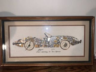 Personalized Signed Girard Watch Picture Jaguar