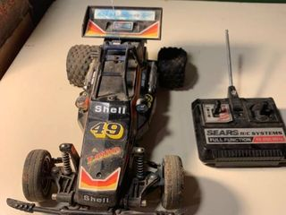 Sears R C Road Handler A T Remote Controlled Car Untested 1C