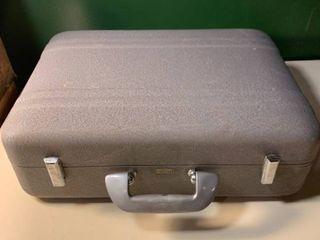 Vintage Aluminum Briefcase Camera Case Suitcase 2D