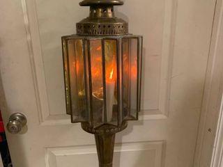 Antique Brass Art Deco Hanging Chain light Fixture 1D