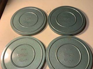 Four 8mm Film Reels Katz Discount Camera Center 1B