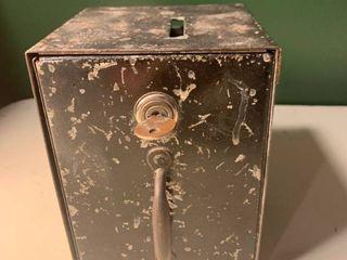 Vintage lock Box 1B