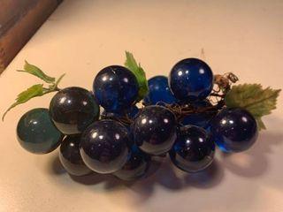 Blue Acrylic Grapes 1B