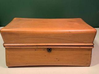 Antique Wooden Boissier Chocolate Box 2C