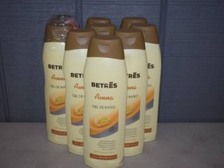 9 Bottles Betres Avena Oatmeal Shower Gel