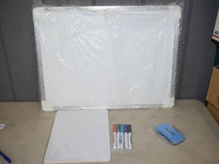 "Magnetic Dry Erase Board 18"" x 24"""