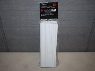 12 Packages of 6 Speedset Glass Block Vertical Track