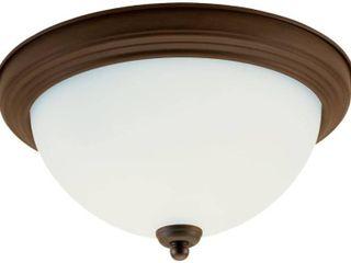Seagull lighting lED Flush Mount Ceiling Fixture
