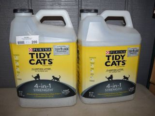 40 Pounds Tidy Cats 4-in-1 Strength Clumping Litter