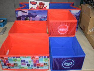 PJ Masks Fabric Storage Bins   Big one has no bottom
