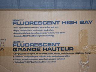 lithonia IBeamIBZ High Bay Fluorescent light 4 Foot