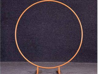 Gold Circle Wedding Arch Back Drop