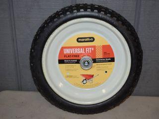 Marathon Universal Flat Free Wheelbarrow Tire