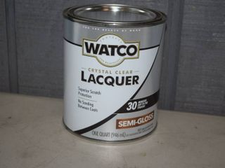 6 Quarts Watco lacquer