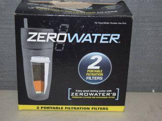 2 Zero Water Filters
