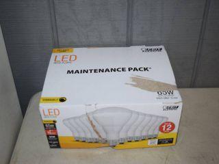 12 Pack lED Bulbs