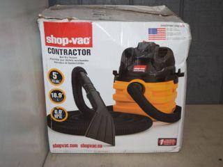 Shop Vac Contractor Wet Dry Vac