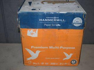 5 Reams Hammermill Copy Paper 8 5 x 11