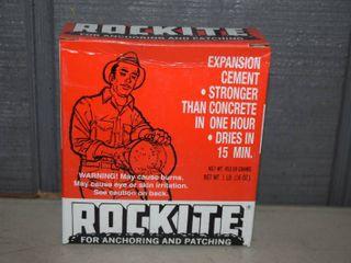 12 Boxes Rocktite Expansion Cement