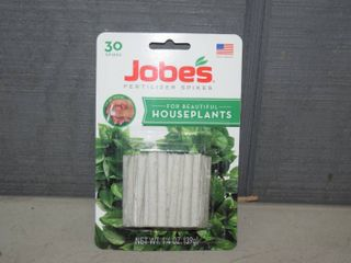 12 Packages of 30 Jobes Fertilizer Spikes