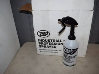 8 ZEP 48 ound Industrial Size Spray Bottles 48 ounce