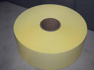 2 Rolls Adhesive Yellow Paper