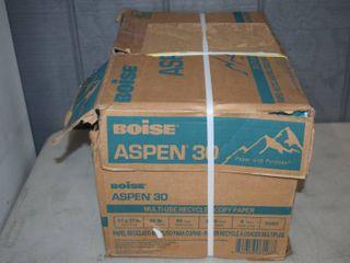 5 Reams Boise Aspen 30 Copy Paper 11  x 17