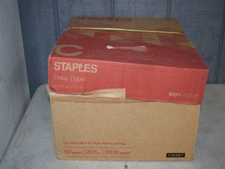 10 Reams Staples legal Size Copy Paper 8 5 X 14