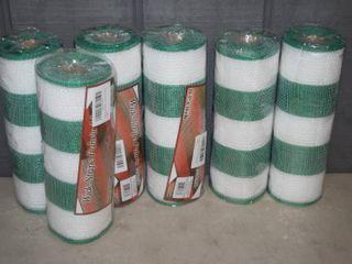 6 Spools Wide Stripe Fabric Mesh