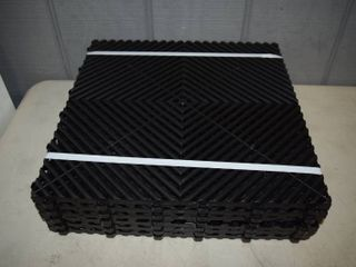 6 Pieces Snap Together Flooring 16  x 16