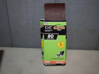 40 Gator Red Resin Sanding Belts