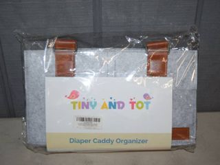 Tiny and Tot Diaper Caddy Organizer
