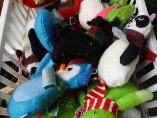 lot of Stuffed Ornaments