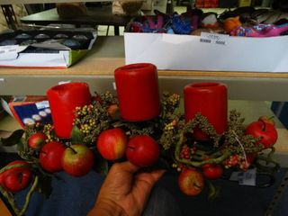 3 Candle Fall Centerpiece