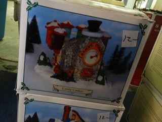 Santa Village Houses  Toy Works  Candy Factory