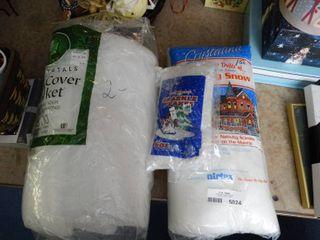 3 Pkgs Fake Snow