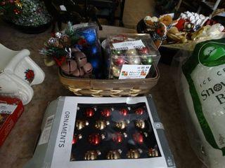 lot Of Miniature Christmas Bulbs