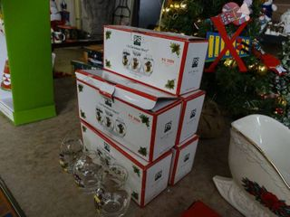 5 Boxes of 3 Miniature Glass Vases
