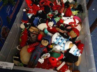 Tote of Stuffed Ornaments