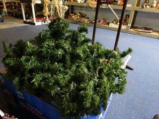 Box of Christmas Greenery