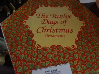 Twelve Days of Christmas Ornaments