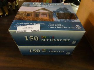 2 Boxes of Net lights