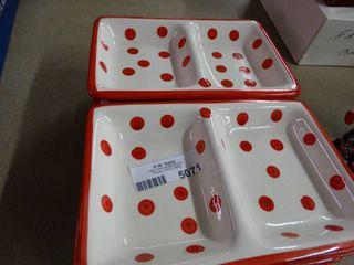 8 Porcelain Serving Dishes