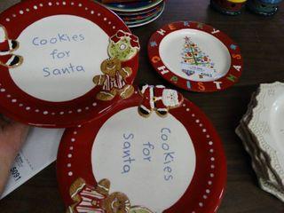 Asst Christmas Plates