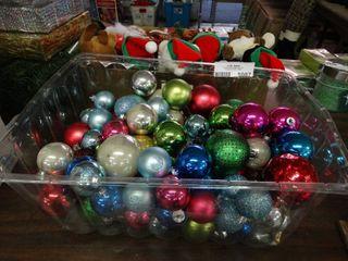 Asst Christmas Bulbs