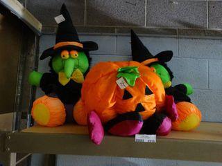 large Stuffed Halloween Decor