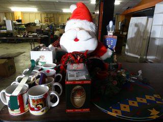 Asst lot of Christmas Decor