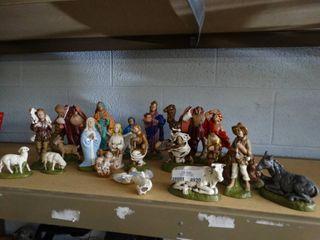 large Nativity Figurines