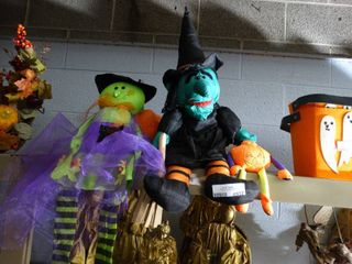 Halloween Stuffed Witches