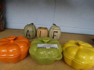 Ceramic Halloween Decor Dishes